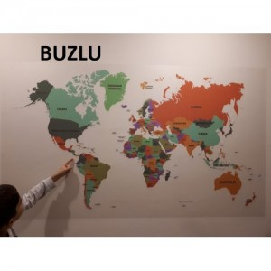 World Map (Blurred) English