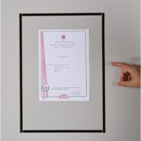 FRAME WHITE BOARD  - DOCUMENT HOLDER