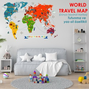 WORLD TRAVEL MAP