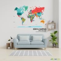 SPECIAL DESIGN WORLD MAPS